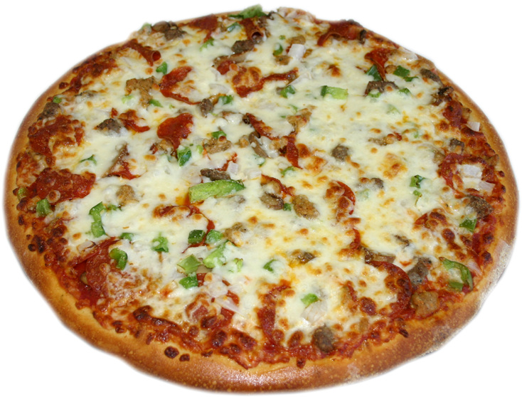 Specialty pizzas, pastas, salads and more